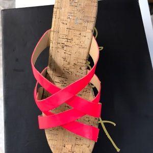 Colin Stewart cork Heels